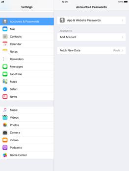 Apple iPad Air iOS 11 - E-mail - 032b. Email wizard - Yahoo - Step 4