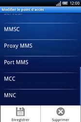 Sony Xperia X8 - MMS - Configuration manuelle - Étape 11