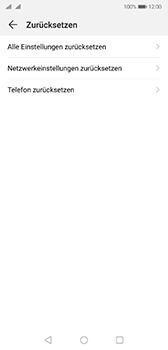 Huawei P20 - Android Pie - Gerät - Zurücksetzen auf die Werkseinstellungen - Schritt 5