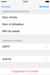 Apple iPhone 4S iOS 7 - E-mail - configuration manuelle - Étape 19