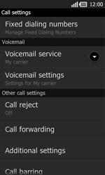 LG P940 PRADA phone by LG - Voicemail - Manual configuration - Step 5
