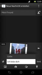 Sony Xperia T - MMS - Erstellen und senden - Schritt 16