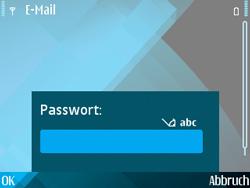 Nokia E71 - E-Mail - Konto einrichten - Schritt 12