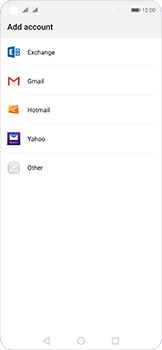 Huawei Nova 5T - E-mail - 032c. Email wizard - Outlook - Step 5