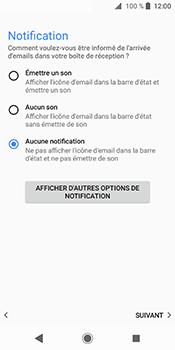 Sony Xperia XZ2 - E-mails - Ajouter ou modifier un compte e-mail - Étape 21