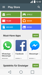 LG Leon 3G - Apps - Konto anlegen und einrichten - 19 / 20