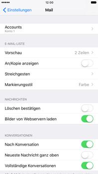 Apple iPhone 7 Plus - E-Mail - Konto einrichten - 30 / 32