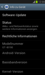 Samsung Galaxy S III Mini - Software - Installieren von Software-Updates - Schritt 6