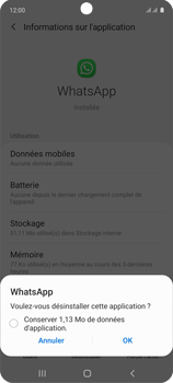 Samsung Galaxy A71 - Applications - Supprimer une application - Étape 7