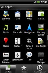 HTC Explorer - Apps - Konto anlegen und einrichten - 3 / 19