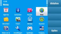 Nokia N97 - internet - hoe te internetten - stap 2