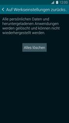 Samsung Galaxy S5 Mini - Fehlerbehebung - Handy zurücksetzen - 9 / 11