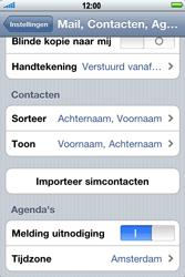 Apple iPhone 4 - Contacten en data - Contacten kopiëren van SIM naar toestel - Stap 4