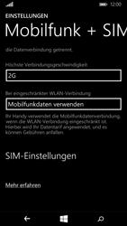 Microsoft Lumia 640 - Netzwerk - Netzwerkeinstellungen ändern - Schritt 7