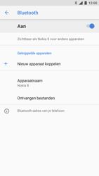 Nokia 8-singlesim-ta-1012-android-oreo - Bluetooth - Aanzetten - Stap 6