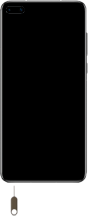 Huawei P40 - Premiers pas - Insérer la carte SIM - Étape 2