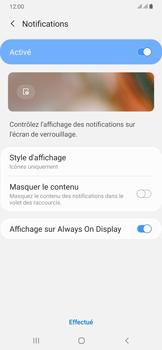 Samsung Galaxy A50 - Sécuriser votre mobile - Activer le code de verrouillage - Étape 11