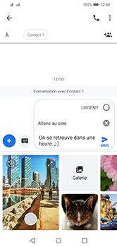 Huawei Y7 (2019) - MMS - envoi d'images - Étape 12
