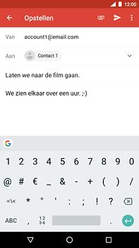 Nokia 6.1 - E-mail - hoe te versturen - Stap 9