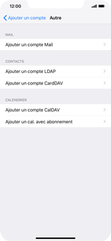 Apple iPhone XR - E-mail - Configuration manuelle - Étape 7