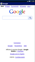Sony Xperia X10 - Internet - Navigation sur Internet - Étape 8