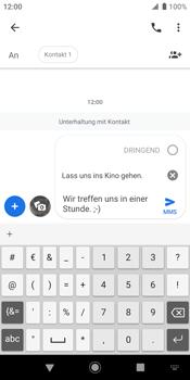 Sony Xperia XZ2 - Android Pie - MMS - Erstellen und senden - Schritt 13