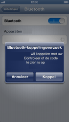 Apple iPhone 5 - Bluetooth - Headset, carkit verbinding - Stap 6