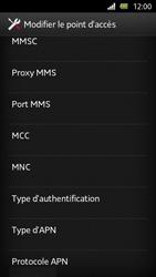 Sony Xperia U - Internet et roaming de données - Configuration manuelle - Étape 12