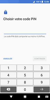 Sony Xperia XZ2 - Sécuriser votre mobile - Activer le code de verrouillage - Étape 7