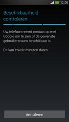 HTC One Mini - Applicaties - Account aanmaken - Stap 9