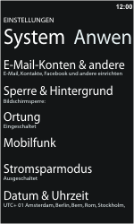 Nokia Lumia 610 - Ausland - Auslandskosten vermeiden - 6 / 8