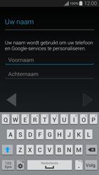 Samsung G850F Galaxy Alpha - Applicaties - Account instellen - Stap 5