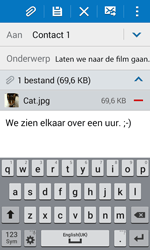 Samsung Galaxy Xcover 3 (SM-G388F) - E-mail - Hoe te versturen - Stap 18