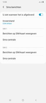 Samsung Galaxy A41 Dual-SIM (SM-A415F) - SMS - Handmatig instellen - Stap 8