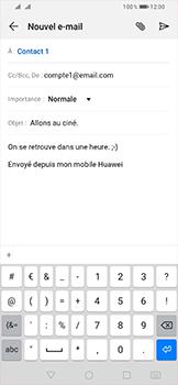 Huawei P Smart (2019) - E-mail - envoyer un e-mail - Étape 8