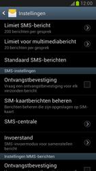 Samsung N7100 Galaxy Note II - SMS - handmatig instellen - Stap 4