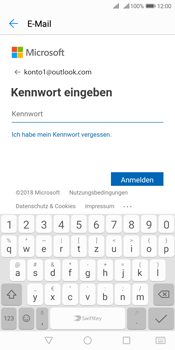 Huawei Y7 (2018) - E-Mail - 032c. Email wizard - Outlook - Schritt 6