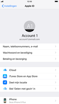 Apple iPhone 6 Plus - iOS 12 - toestel resetten - back-up maken met jouw account - stap 10