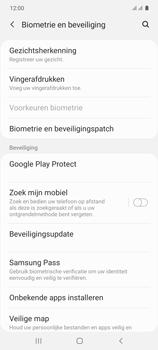 Samsung galaxy-s10-lite-dual-sim-sm-g770f - Beveiliging en ouderlijk toezicht - Zoek mijn mobiel inschakelen - Stap 5