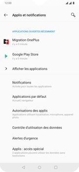 OnePlus 7 - Applications - Supprimer une application - Étape 5