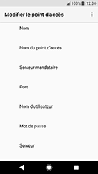 Sony Xperia X Compact (F5321) - Android Oreo - MMS - Configuration manuelle - Étape 9