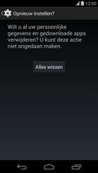 LG Google Nexus 5 - Instellingen aanpassen - Fabrieksinstellingen terugzetten - Stap 7