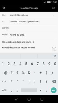 Huawei G8 - E-mail - envoyer un e-mail - Étape 9