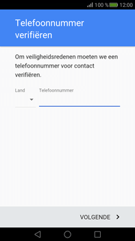 Huawei Mate S - Applicaties - Account aanmaken - Stap 6