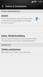 HTC One - Fehlerbehebung - Handy zurücksetzen - 7 / 11