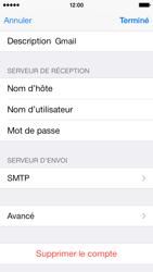Apple iPhone 5c - E-mails - Ajouter ou modifier un compte e-mail - Étape 16