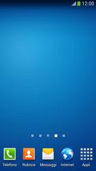 Samsung Galaxy S 4 Mini LTE - Operazioni iniziali - Installazione di widget e applicazioni nella schermata iniziale - Fase 3