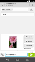 Huawei Ascend P6 LTE - MMS - Erstellen und senden - 18 / 20