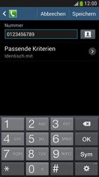 Samsung I9195 Galaxy S4 Mini LTE - Anrufe - Anrufe blockieren - Schritt 12