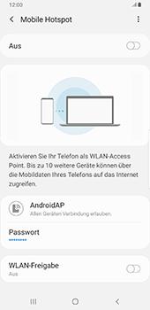 Samsung Galaxy S9 Plus - Android Pie - WiFi - So aktivieren Sie einen WLAN-Hotspot - Schritt 12